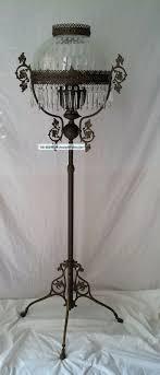 floor lamps antique victorian style kerosene oil floor lamp brass john scott outdoor electric floor