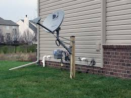 direct tv dish size pole mount slimline 3 lnb pole size question satelliteguys us