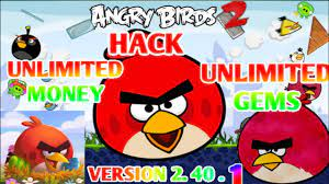 ANGRY BIRDS 2 V- 2.40.1 (UNLIMITED GEMS/MONEY) HACK NO ROOT - YouTube