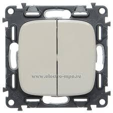 Р7344. Механизм <b>Valena</b> Allure <b>752805 выключателя</b> 2кл. с/п ...