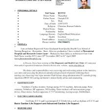 How To Write A Cover Letter For Nursing School Examples Of Resume
