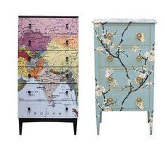 diy decoupage furniture. Undefined Diy Decoupage Furniture