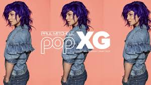 Introducing Pop Xg In Royal Purple From Paul Mitchell