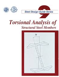 Hss Beam Design Example Steel Design Guide Series 9 Torsional Analysis Of