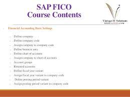 Sap Fico Training Material Ppt