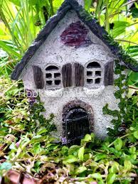miniature garden gnome house garden decoration