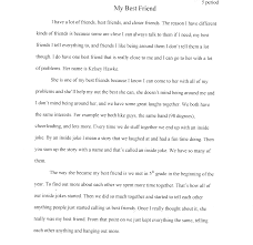 describe my best friend essay co describe