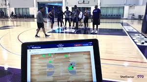 Basketball Tracker How Tcu Uses Live Analytics To Drive Competition In Practice