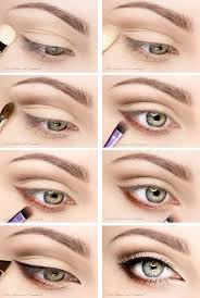 easy winged eye makeup