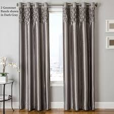 Astonishing Decoration Curtain Panels Classy Design Furniture Bedford Grey  For Interior