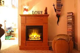aurora 18in oak electric fireplace mantel package 18wm9034oak