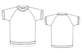Raglan Sleeve Pattern Stunning TShirt With Raglan Sleeves Sewing Pattern 48 Madetomeasure