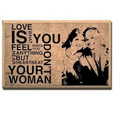 love is us personalised plaque