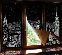 light blocking blinds. A Ukrainian Blind Company Called HoleRoll Shared This Fun Set Of Concept Blinds That Feature Iconic Cityscapes Cut Into Blackout Curtains. Light Blocking