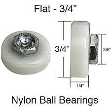 roller 3 4 flat ball bearing wheel sliding shower door pairs sliding shower door roller assembly steel