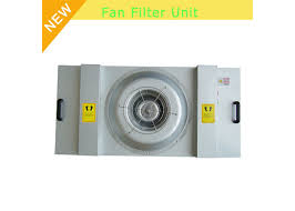laminar flow clean room ceiling fan filter unit low noise without pre filter