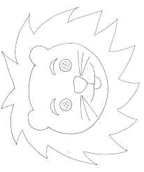 Masque De Lion Colorier Masque De Lion Lion Et Colorier