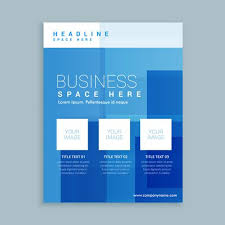 Marketing Brochure Templates Business Marketing Flyer Brochure Template Download Free Vector
