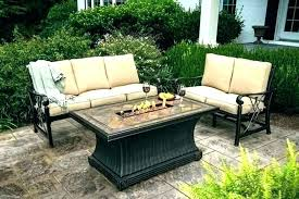 patio table set patio dining sets outside table and chairs with fire patio furniture with fire