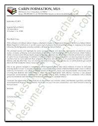 Librarian Media Specialist Cover Letter Sample Information