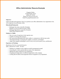 9 First Resume Template No Experience West Of Roanoke