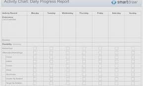 Free Workout Progress Chart Templates At