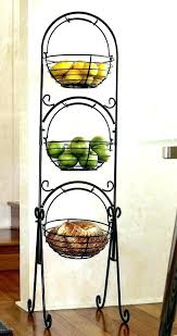 tiered kitchen stand tiered fruit stand various types of stands towels plants and room within basket tiered kitchen stand two tier fruit
