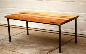 trendy dining table metal legs wood top reclaimed wood kitchen table dining space full size