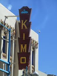 Vintage Theatre Sign 1920s Pueblo Deco Style Kimo Theatr
