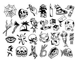 Friday The 13th Flash Sheet At Gnostic Tattoo тату идеи для