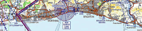 Caa England South Chart Caa England South 1 250 000 Uk Vfr Chart Sheet 8