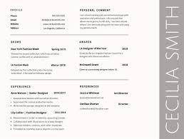 Fonts For Resume Resume Default Font Therpgmovie 17