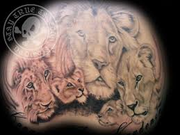Pics Photos Lion Pride Tattoos грудь