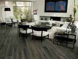 Gray Laminate Flooring Kitchen With Dark Resilient