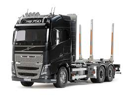 1 14 r c volvo fh16 globetrotter 750 6x4 timber truck