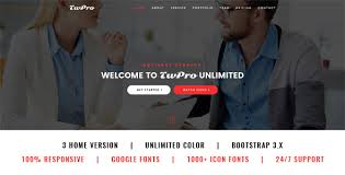 Twpro Startup Landing Page By Themewar Themeforest