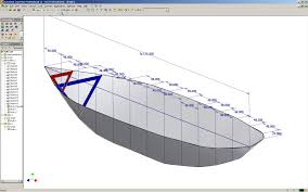 Fishing Boat Hull Design 3d Design Of Fishing Boat Using Autocad How To Draw A Boat