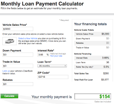 Loan Payment Calculation Mortgage Payment Calculator