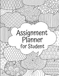 Weekly Homework Assignment Planner For Student Weekly Homework Assignment