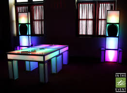 ping pong lighting. Game Rentals For Parties | LED Ping Pong Lighting