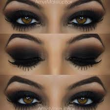 dark smokey eye makeup tutorial no 22 how to do eye makeup for brown eyes you