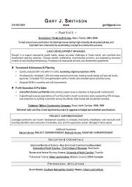 Resume Creation Tips Sample