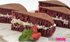 Resep Martabak Red Velvet Cream Cheese Tabloidbintangcom