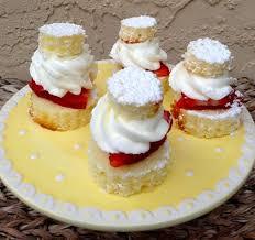 Mini Strawberry Shortcakes With Entenmanns Pound Cake Food I