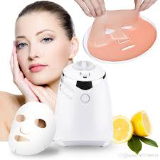 fm001 mask maker machine collagen fruit vegetable diy automatic face mask making with 32 counts collagen pill soothing mask thermal