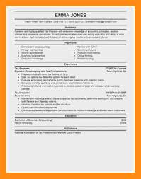 Tax Preparer Resume Samples 11 12 Tax Preparer Resume Samples Jadegardenwi Com