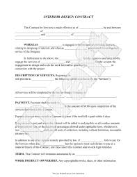 simple contract for services template sample contract agreement for services rendered sample interior