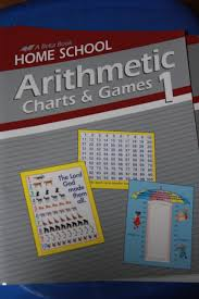 Abeka Arithmetic Charts And Games 1 A Beka Book Home School