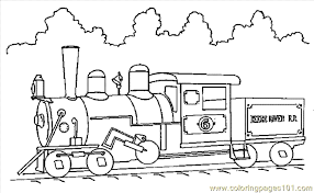 Small Picture Long Train Coloring Pages Coloring Pages