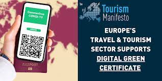 Europe's travel & tourism sector welcomes Digital Green Certificate  proposal and urges parallel effort on wider restart plan to maximise benefit